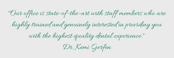 Quote by Dr. Gerfen.